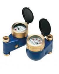 Compteurs d'eau à jets multiples - Montage vertical - Eau froide