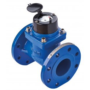 Linear helix water meter prefitted PN16