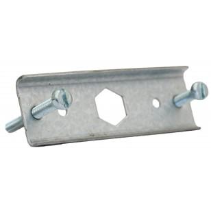 Stainless steel bracket for pressure gauge Ø 63