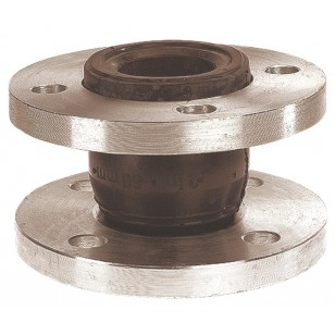Expansion joint - Zinc plated flanges ISO PN10 - Simple sphère