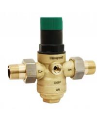 Régulateur de pression à membrane - 2 raccords union mâle - Pour réseau d'eau