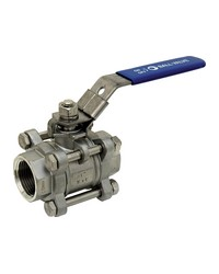Stainless steel ball valve - 3 pieces - Full bore - F/F