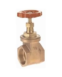 Full bore bronze valve - F/F - Manoeuvre by handwheel