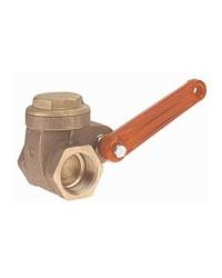 Full bore bronze valve with quick closing - F/F