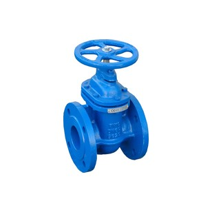 Flanged gate valve with metal wedge - Brass seat