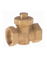 Packed plug valve - Female / Female