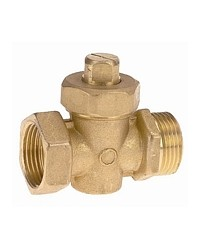 Packed plug valve - Male / Female