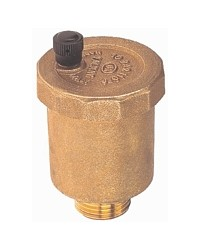 Automatic air vents - Delivered with valve