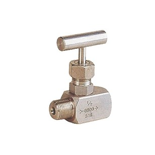 Stainless steel 316 nozzle valve - M/F