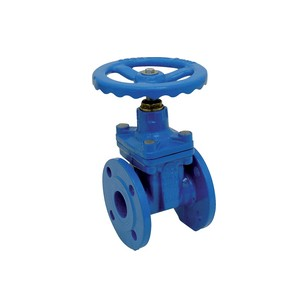 "Flanged gate valve with rubber wedge - PN16 - ""Short series"" F4"