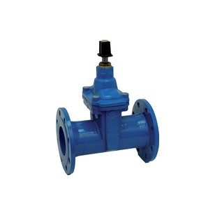 "Flanged gate valve rubber wedge- NP 16 - ""Long series"" F5 - Manoeuvre by squares 30 x 30 mm - FSIH"