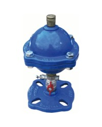 Single function air valve for clear water