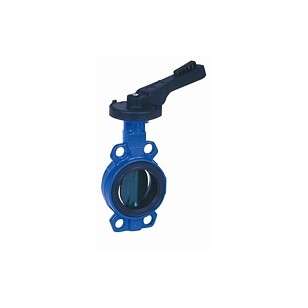 Butterfly valve - Cast iron body FGL - Notched handle - Butterfly in cast iron GS - Wafer type - EPDM sleeve