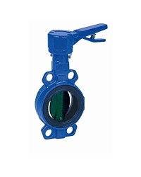 Butterfly valve - Cast iron body FGL -Notched handle - Butterfly in cast iron GS - Wafer type - EPDM sleeve
