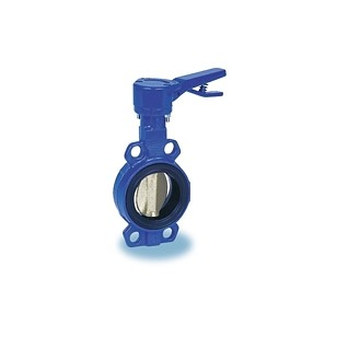 Butterfly valve - Cast iron body FGL - Notched ductile cast iron handle - Butterfly stainless steel - Wafer type