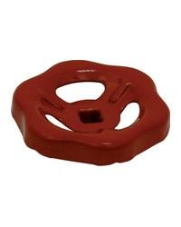 Red handwheel for full bore valve - ref 210