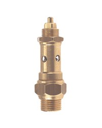 Cut out brass safety relief valve - CE - Metal valve