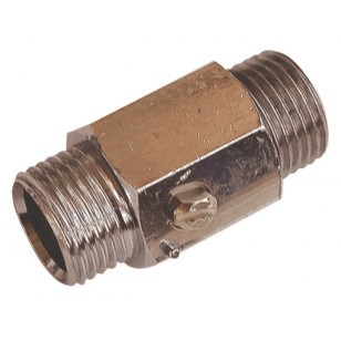 "Brass ball valve - M / M - ""Mini series"" - Screwdriven manoeuvre"