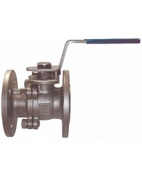 Flanged ball valve - Stainless steel split body with full bore