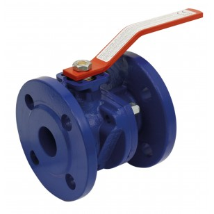 Flanged ball valve - Cast iron epoxy coating - Chrome brass ball