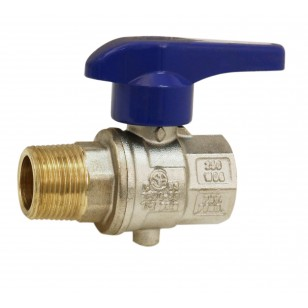 Butterfly valve - M / F - Butterfly handle