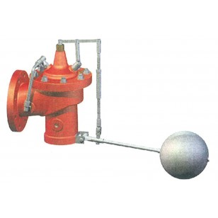 Flanged float valve NP10