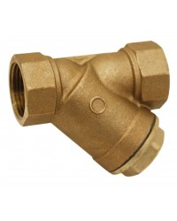 "Bronze strainer - ""Y"" type - Female / Female"