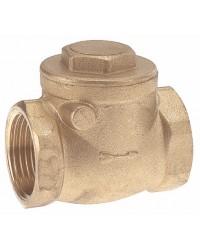 "Horizontal rubber swing check valve - ''Etoile series"""