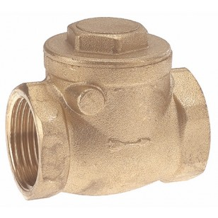 "Horizontal rubber swing check valve - ""Industrial series"""