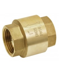 "Brass multi positions check valve - Nylon lift type check valve + gasket NBR - ''Etoile series"""