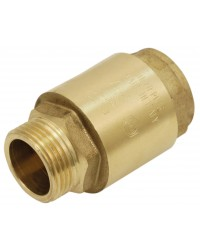 "Brass multi positions check valve - ""Industrial series"" - Male / Female - Nylon lift type check valve"