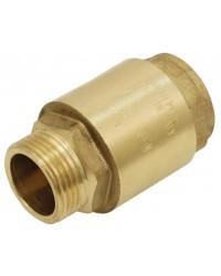 Clapets toutes positions laiton - Série industrie - Mâle / Femelle - Obturateur nylon