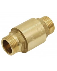 "Brass multi positions check valve - ""Industrial series""- Male / Male"