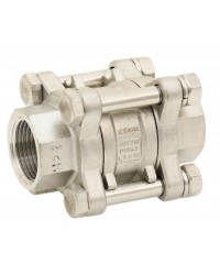Multi positions check valve - 3 316 Stainless steel pieces - Reduced bore