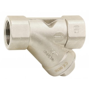 "Multi positions check valve - ""Y"" type - Stainless steel 316"