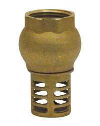 Clapet crépine à levée verticale - Série Etoile - Clapet laiton revêtu NBR