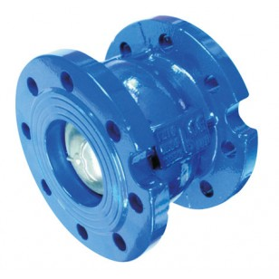 Check valve - Axial type - With undrilled bosses