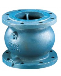 Check valve - Axial type - With 2 tapped and plugged bosses 1/2''