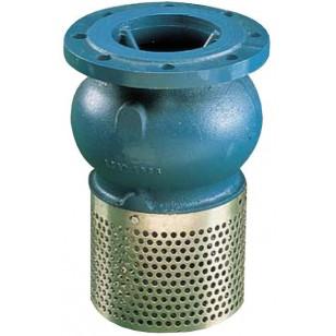 Foot chek valve