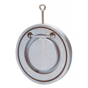 Check valves - Wafer type - Single bichromated steel plate