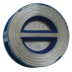 Check valve - Wafer type - Double plate
