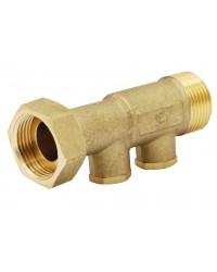 Non return EA type check valves - Straight body - With 2 brass plug - Sn x M