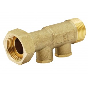 Non return EA type check valves - Straight body - With 2 brass plug - Sn x M