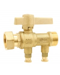Pollution-control check valve EA type - With 2 drains radiator - Ep x M