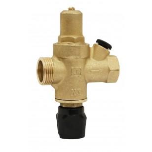 Réducteur de pression à piston en laiton matricé - Entrée mâle x Sortie femelle