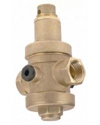Réducteur de pression à piston en laiton matricé - Femelle / Femelle - Série industrie