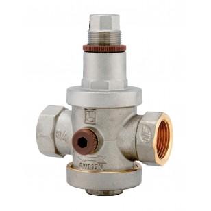 Réducteur de pression à piston en laiton matricé - Série NF - Femelle / Femelle