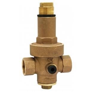 Réducteur de pression à membrane - Bronze - Femelle / Femelle
